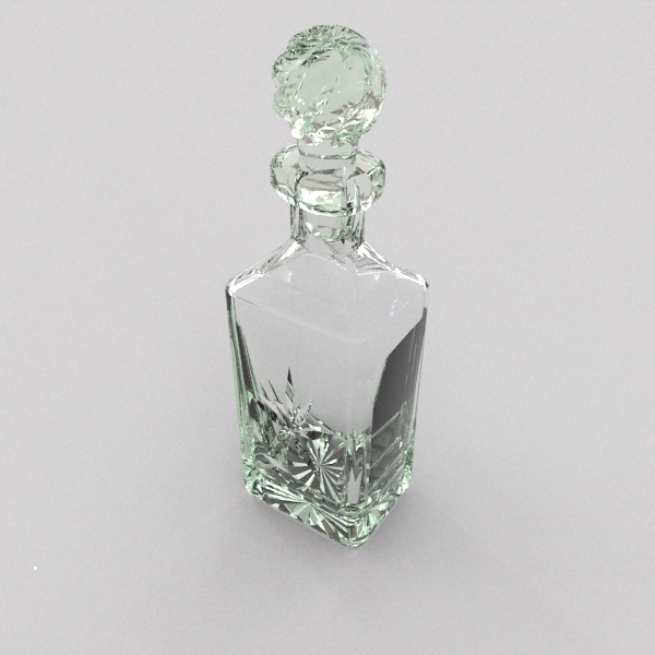 whisky decanter 3d 3ds