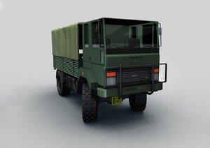 3d ashok leyland stallion 4x4 model
