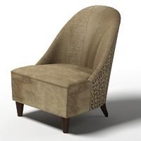 3d baker josephine chair