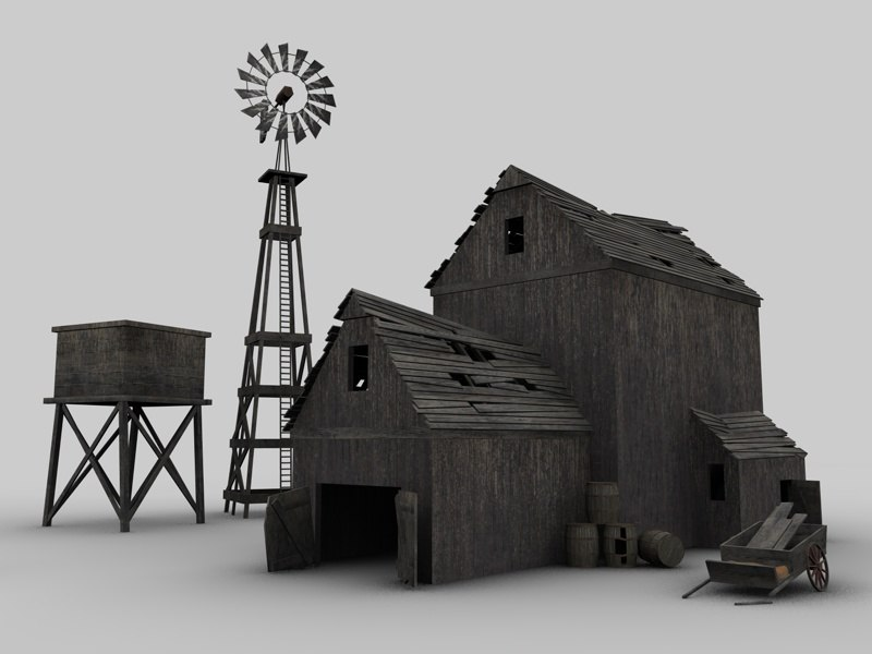old barn 3ds