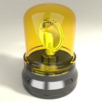 Rotating beacon