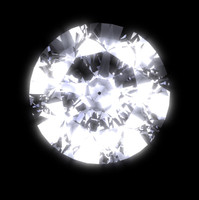 brilliant - diamond cut 3d model