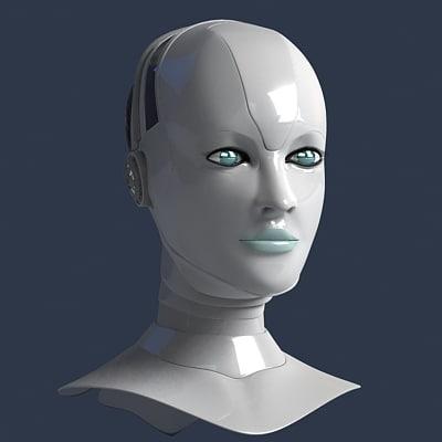 3ds robots head
