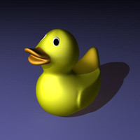free 3ds model rubber duck