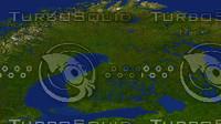 finland maps 3d model