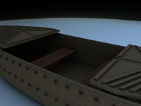 3ds max skiff sea