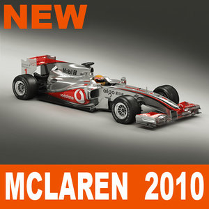 3ds max mclaren f1 2010