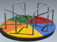 lightwave merry-go-round playground