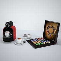 p3d nespresso coffee set