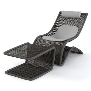 max chaise lounge wire