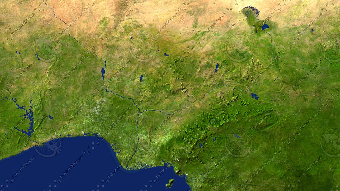 nigeria maps max