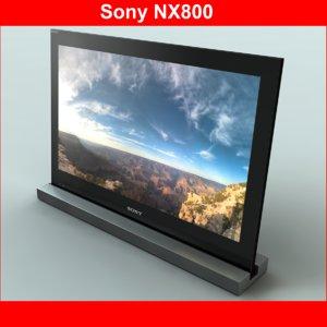 3d tv sony nx800