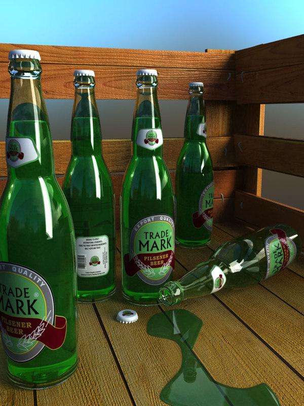 3d bottle labelling beverage