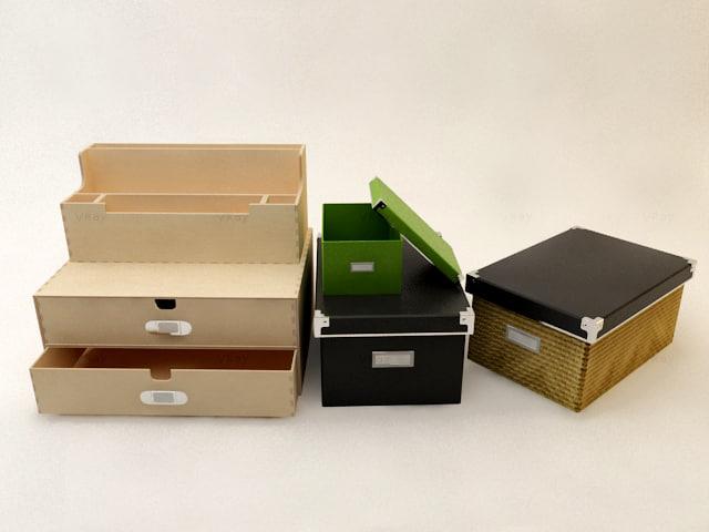 drawer interior 3d model