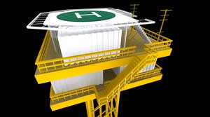 3d offshore rigg rig power