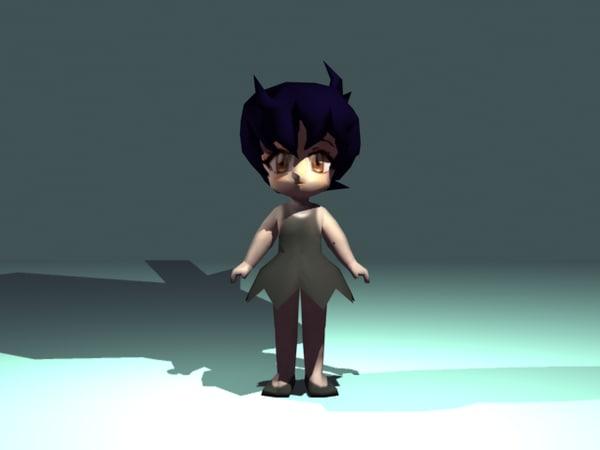 3d fan art model
