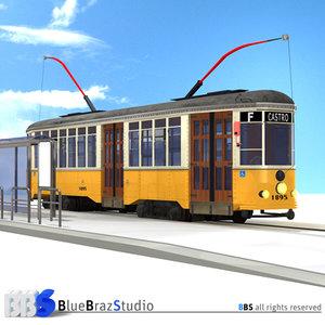 3dsmax san francisco tramway