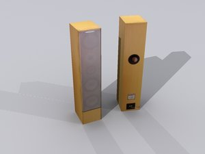 3d model ready loudspeaker