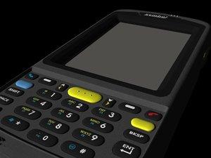 3d symbol handheld data