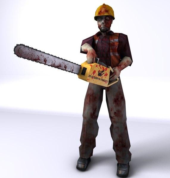 character 2 3d obj