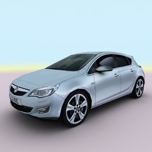 3d 2010 vauxhall opel astra