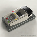 handheld bank 3d model