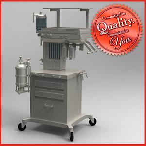 3ds max oxygen machine