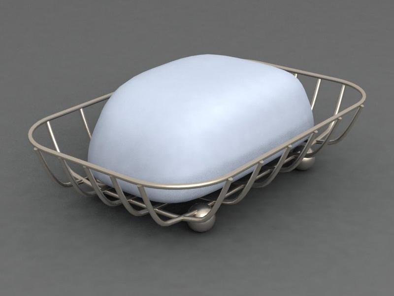 soap dish 3d model