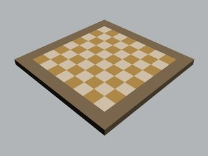 3ds max chess board