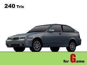 lada 112 coupe 3d model