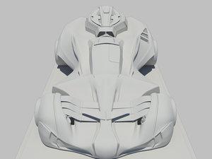 3d model is