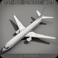 737-800 Generic White