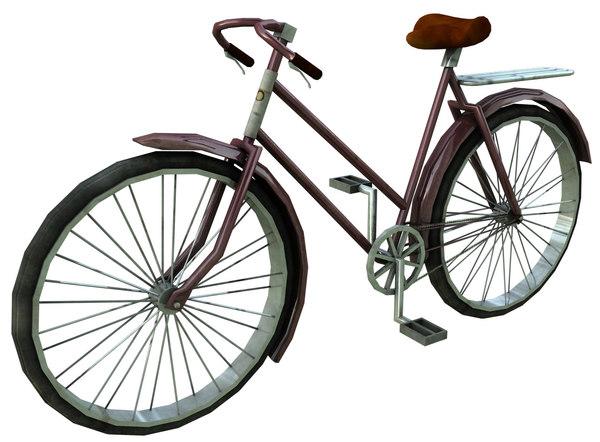 c4d bike