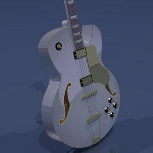 3d jazz guitar
