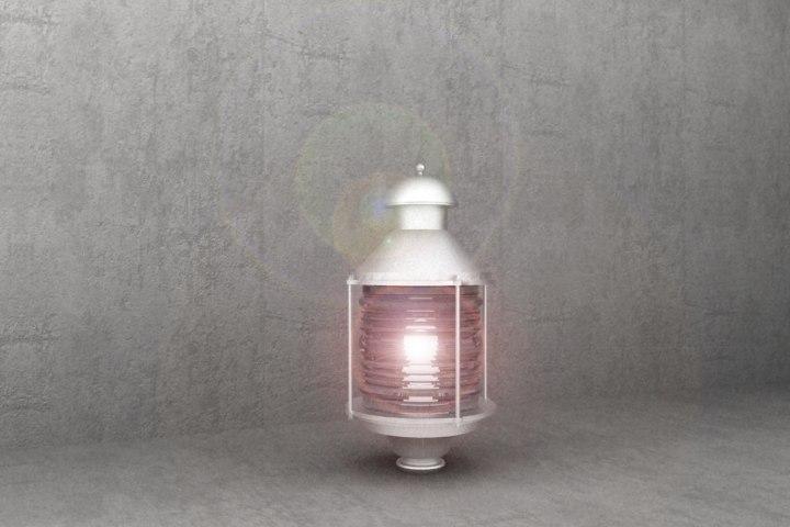 antique luminaire nl33 3d model