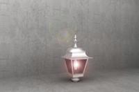 antique street lamp luminaire 3d model