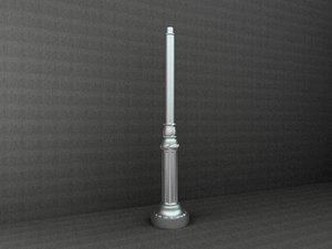 antique street lamp max