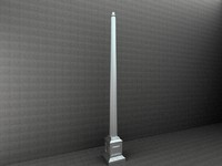 3d model of antique street lamp