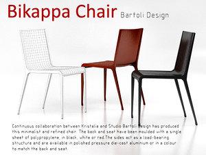 3dsmax bikappa chair