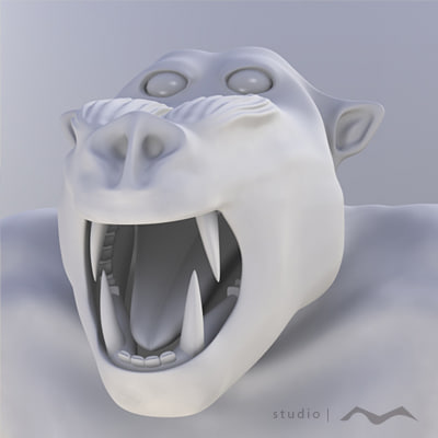 free obj model bad-boon creature