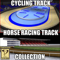 Cycling and Horse Racing Tracks