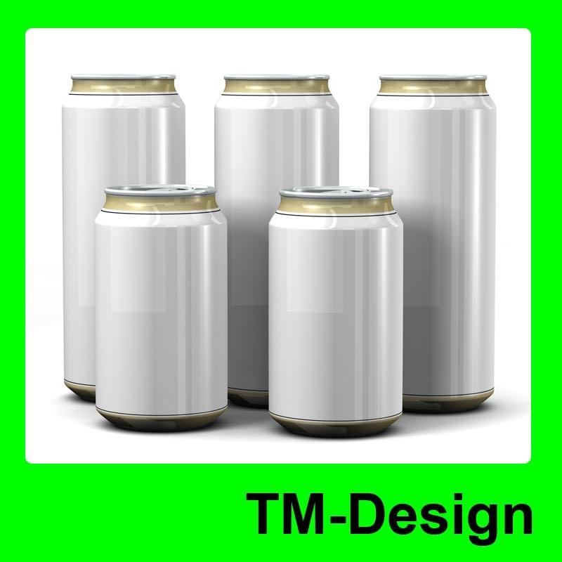cans 3d model