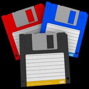 3 5in floppy disk 3d model