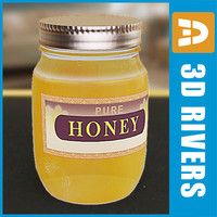 Honey jar by 3DRivers