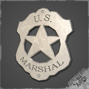 3ds max marshals badge