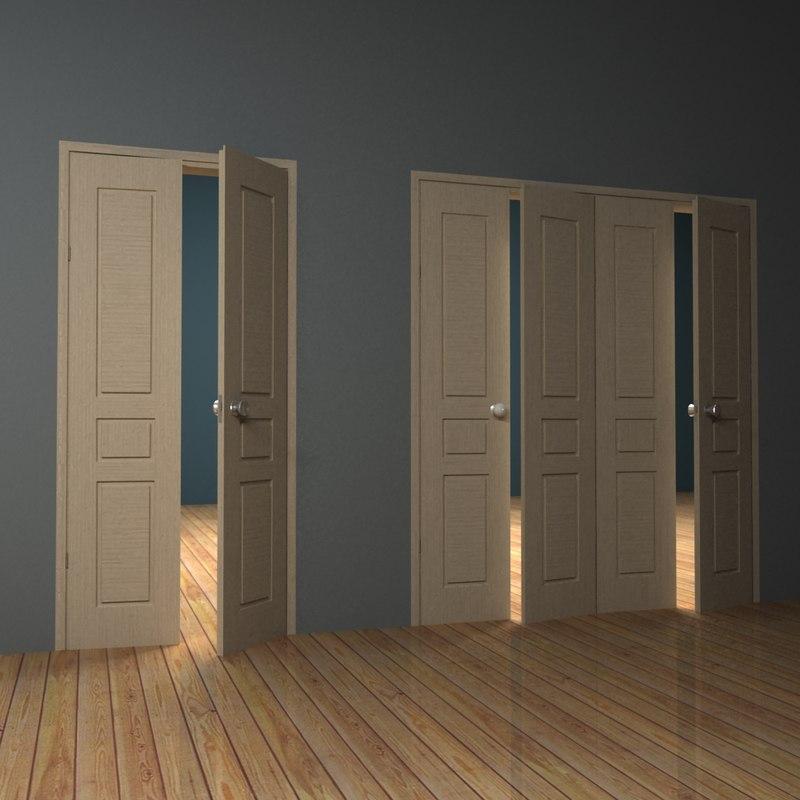 doors 3 3d max
