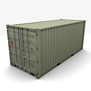 transport container 3d max