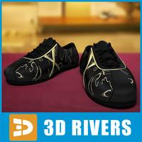 3d jogging sneakers model