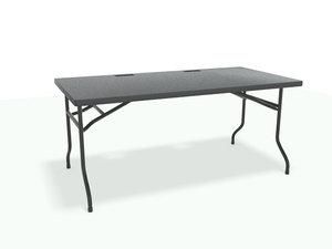 3d model fold table