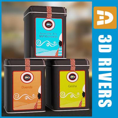 tea box set 3d 3ds